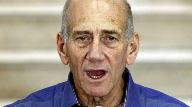 Ehud Olmert was found guilty in a bribery case that forced him to resign the prime ministership in 2008.