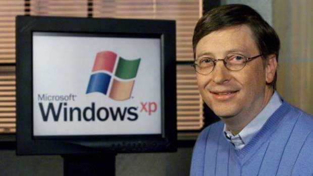 SIGNING OFF:  XP made its debut in 2001 and retired from retail stores as boxed software in 2008.
