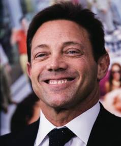 Jordan Belfort, the financier convicted of fraud and the author of the book The Wolf of Wall Street.