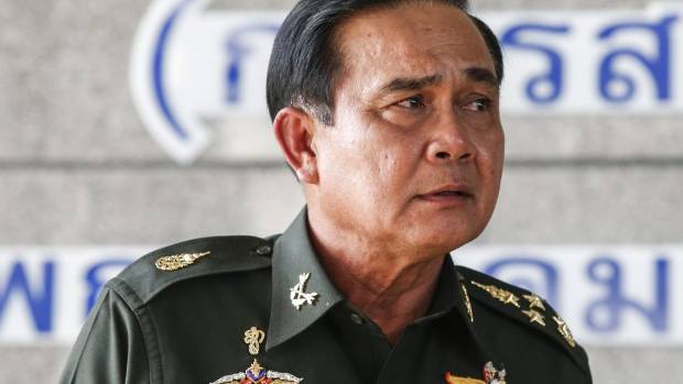 Thai army chief, coup leader and now prime minister, General Prayuth Chan-ocha.