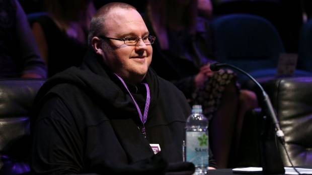 MONEY MAN: Kim Dotcom at an Internet Party function in Auckland over the weekend.