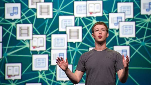 DATA MINE: Facebook chief executive officer Mark Zuckerberg.