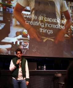 Co-founder and CEO Yancey Strickler hosts the Kickstarter and Creative Communities BB Sessions during the Sundance ...