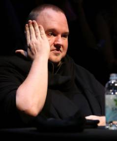 Kim Dotcom must reveal his entire fortune to a collection of Hollywood studios,High Court judge rules.