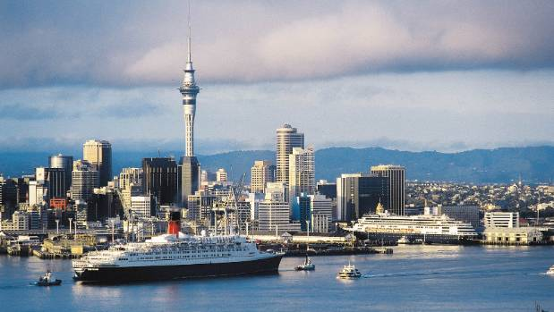 There will be 33 cruise ships visiting New Zealand over the summer.