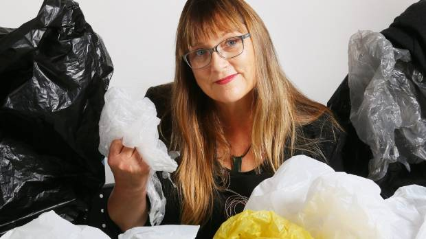 Green Party MP Denise Roche is waging a war against single use plastic bags.