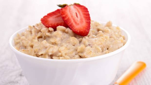 Rolled oats are full of fibre, and great for lowering blood pressure.