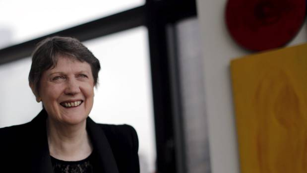 Helen Clark says she is 'deeply honoured' to receive the Government's nomination for the role of UN secretary general.