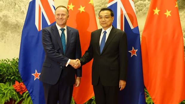 Prime Minister John Key and Chinese Premier Li Keqiang discussed trade, agriculture and UN Security Council issues ...