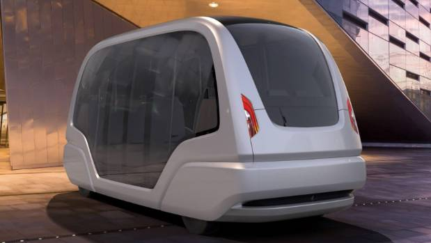 The group rapid transport (GRT) vehicles will hit the streets in Singapore by the end of 2016.