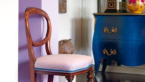 Lavender or Mauve in dining rooms was received better than slate grey or terracotta.