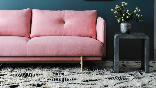 Choose the best sofa and rug you can afford and you'll never regret it. This sofa and table are from May Time, while the ...