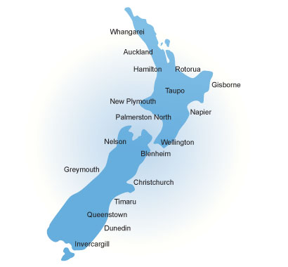 Map Of Palmerston North New Zealand.Weather News Stuff Co Nz